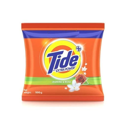 Tide Plus Detergent Washing Powder with Extra Power Jasmine and Rose Pack – 500 g