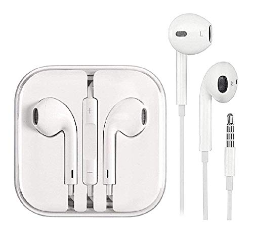 Apple Wired EarPods with 3.5 mm Headphone Plug White | vkshop Online Store