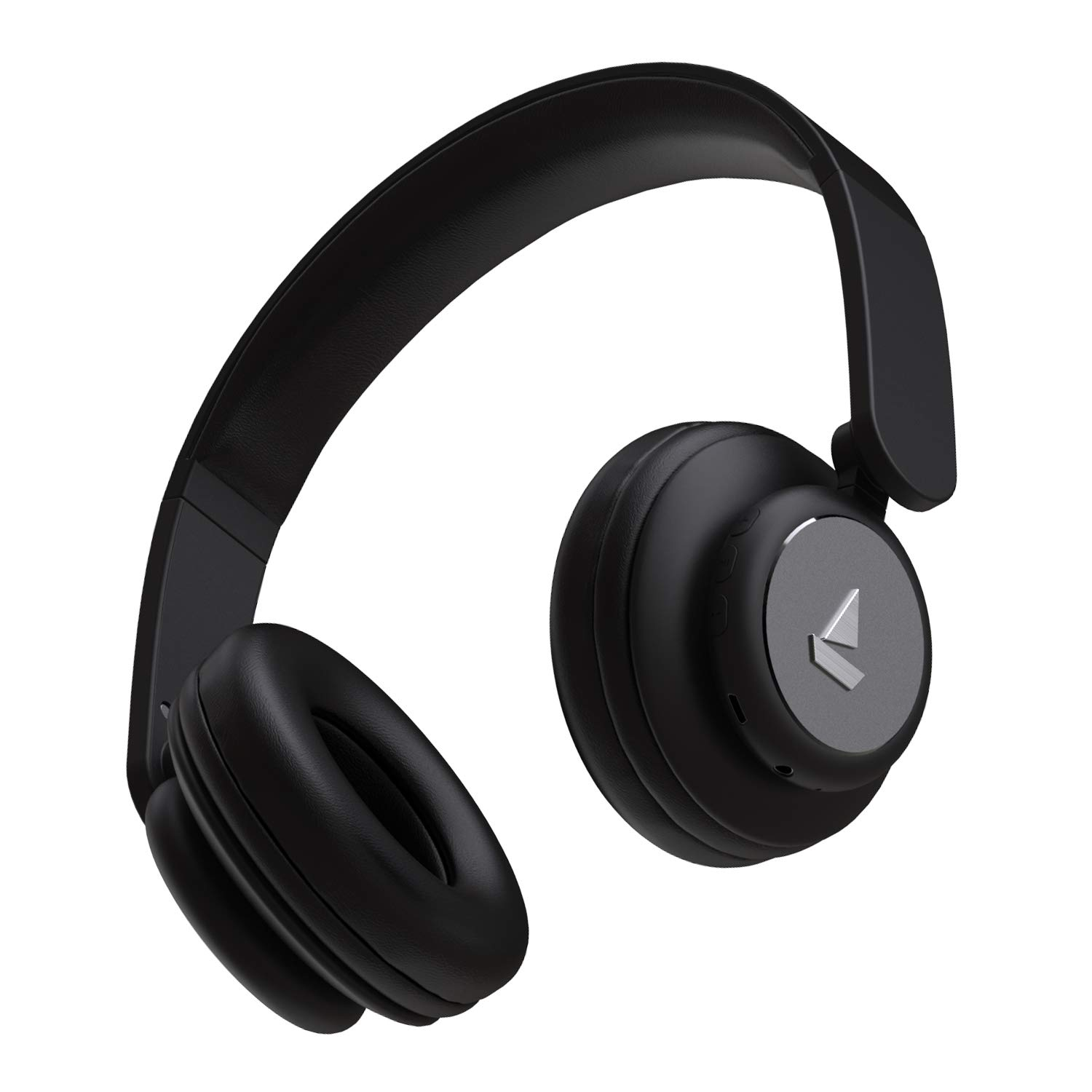 Boat Rockerz 450 Wireless Bluetooth Headphone with Up to 15H Playback, Adaptive Lightweight Design, Immersive Audio Easy Access Controls and Dual Mode Compatibility(Luscious Black)