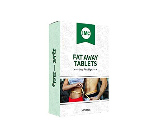 Imc Fat Away Tablets – 30 Tablets, Pack Of 2