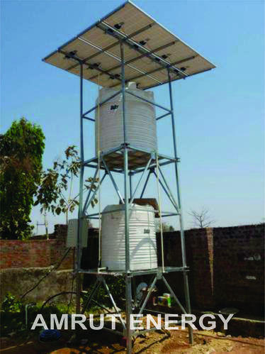 1 HP Solar Pump With Tank Holding